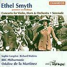 Ethel Smyth - : Concerto for Violin, Horn & Orchestra; Serenade (1996)