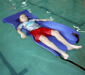 Giant Ribbed Mat Aquatic Therapy Special Needs Swim Non