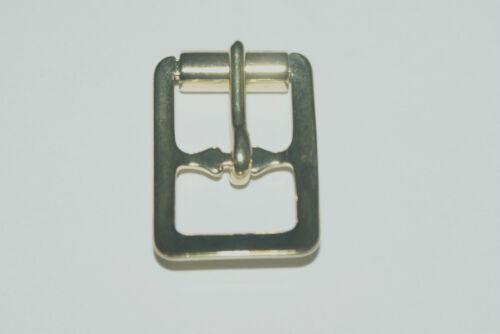 "12mm -BRASS PLATED NICKEL PLATED 5 PRESSED STEEL ROLLER BUCKLES 1//2/"""