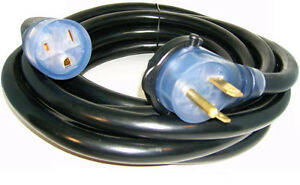 50 220 Volt 50 Amp Heavy Duty 8 3 Welder Extension Cord