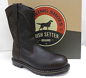 MENS-RED-WING-IRISH-SETTER-SAFETY-11-034-PULL-ON-BOOTS-83904-ALUMINUM-TOE-10-5-EE