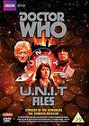 Doctor Who U.N.I.T. Files (DVD, 2012, 3-Disc Set, Box Set)