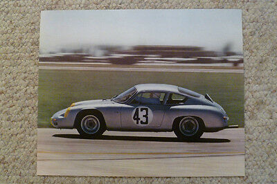 1964 Porsche Abarth Carrera Showroom Advertising Sales Poster RARE! Awesome L@@K