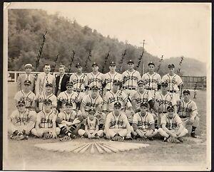 1949 BLUEFIELD Appalachian Lg. SIGNED Baseball Photo