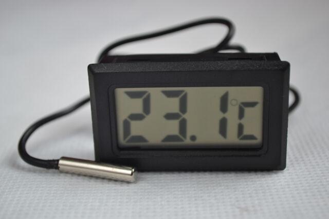 Home Brew Digital Probe Embedded Thermometer FridgeFreezer Keg Beer Tap