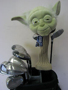 1-NEW-STAR-WARS-YODA-460cc-Golf-Driver-Large-Headcover-Head-Cover