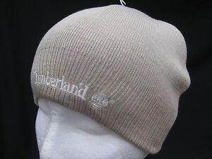 MENS-WOMENS-UNISEX-TIMBERLAND-WARM-SKULL-WINTER-BEANIE-HAT-HATS-WOOLY-BEIGE