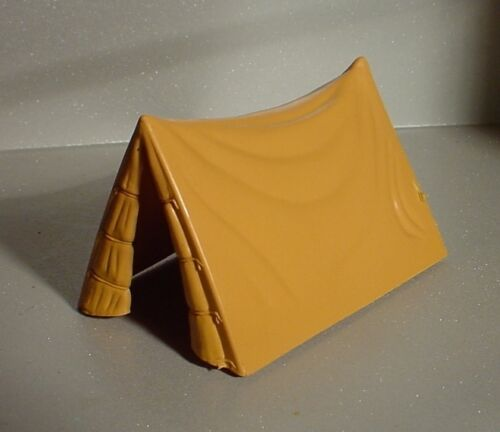 Tent Miniature Tan Hide Style 1/24 Scale G Scale Diorama Accessory Item