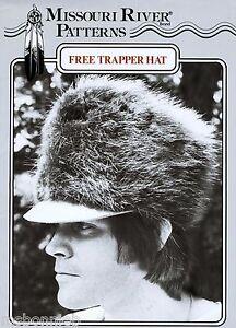 Missouri River Mountain Man Fur Trapper Hat Sewing Pattern