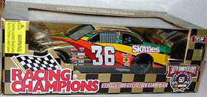 98-Ernie-Irvan-36-Skittles-Limited-Edition-Gold-1-24-NASCAR-Stock-Car-2500