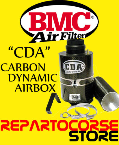 AIRBOX ASPIRAZIONE DIRETTA CARBONIO FILTRO ARIA SPORTIVO BMC CDA ACCDA 85//150