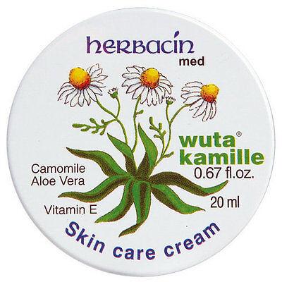 beauty 4U Herbacin wuta Kamille Camomila & Aloe Vera Skin Care Cream 20ml