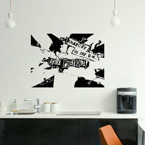 Image Is Loading Large Pistols Anarchy Uk Bedroom Wall Art