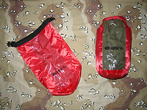 DRY BAG 6 LITER WATERPROOF 6L NEW WITH CLEAR WINDOW