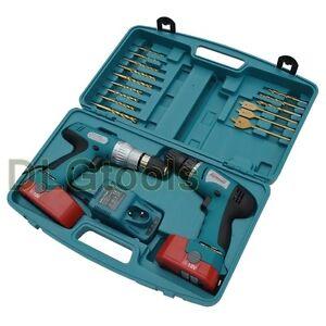 Boschmann-18V-Twin-2-Cordless-Hammer-Impact-Driver-Drill-Kit-2-Batterys