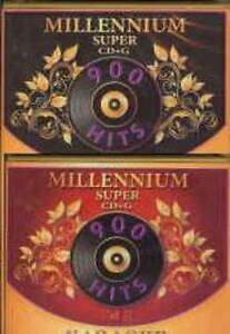 MILLENNIUM-KARAOKE-Super-CD-G-SCDG-Vol-1-2-1810-Songs