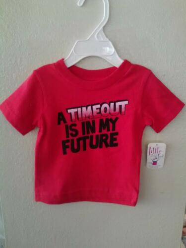 NEW A Timeout Is In My Future Infant//Toddler T-Shirt