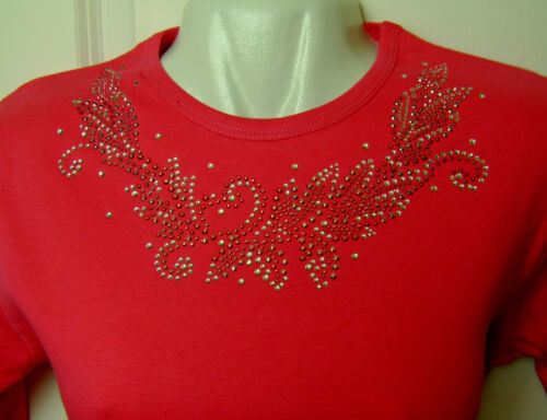 NECKLINE SWIRL LEAF MOTIF RHINESTONE IRON ON HEAT TRANSFER APPLIQUE TRIM