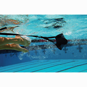 Finis-SWIM-PARACHUTE-Heavy-12-OR-Light-8-Fixed-Lane-Belts-Stretch-Cord-NEW
