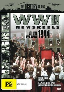 WORLD-WAR-II-NEWSREELS-VOLUME-5-1944-DVD-NEW