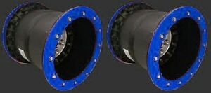 Tech-3-Wheels-BLUE-Rear-Dual-Beadlock-10-10x10-4-6-4-110-115-Yamaha-200-Blaster