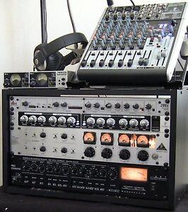 Podcast-Studio-w-Computer-Interface-Audio-Recording-DJ-Equipment-Support