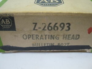 ALLEN-BRADLEY Z-26693 OPERATING HEAD | eBay