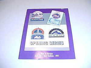 1993-COLORADO-ROCKIES-VS-NEW-YORK-METS-BASEBALL-PROGRAM-ROCKIES-1ST-GAME