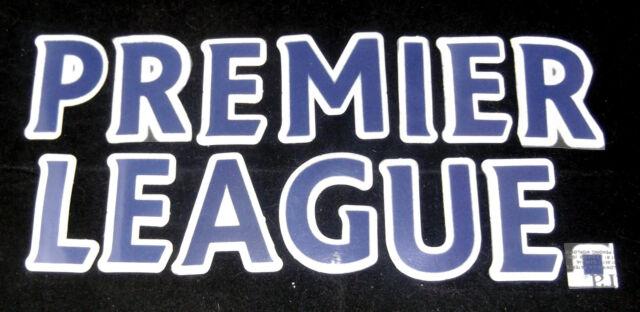 Premier League Senscilia/Lextra 07-12 Football Shirt Blue Letter Player Size