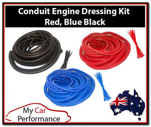 Conduit Engine Dressing Kits - Wire Cable Ties Cover Car ...