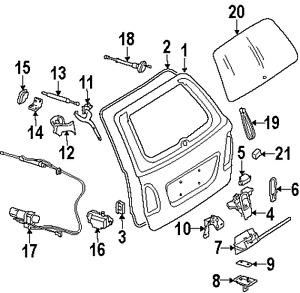 Mercedes benz 2117400235 genuine lock ebay for Mercedes benz genuine parts germany