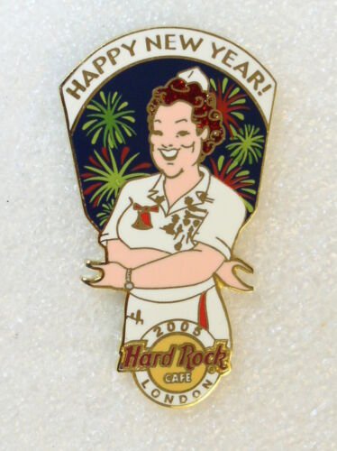 LONDON,Hard Rock Cafe Pin,New Year Series,Must see