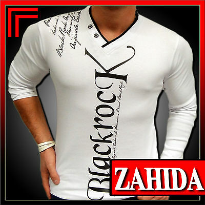 Sweat-T-Shirt Langarm Weiß SchwarZ HoodiE PulloveR Club Party S M L XL XXL NEU