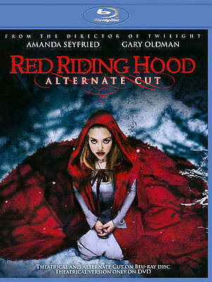 Red Riding Hood Extended Cut (Blu ray only with case)