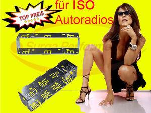Installation-Frame-Car-Radio-Universal-Iso-Metal-Frame-Frame-pro-Surga