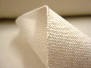 Natural-cotton-duck-canvas-fabric-SOLD-PER-METRE-36-034-w-14oz-STRONG-waterproof