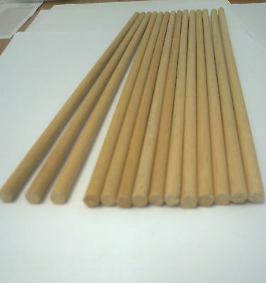 10 CAKE PILLAR DOWEL RODS 6MM DIAMETER FOR STACKED & WEDDING CAKES AND CRAFT USE
