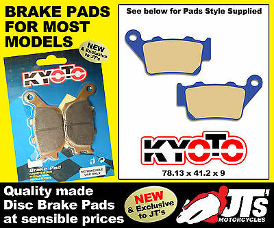 REAR SET DISC BRAKE PADS YAMAHA XT 660 XT660 Z Tenere (08-11)