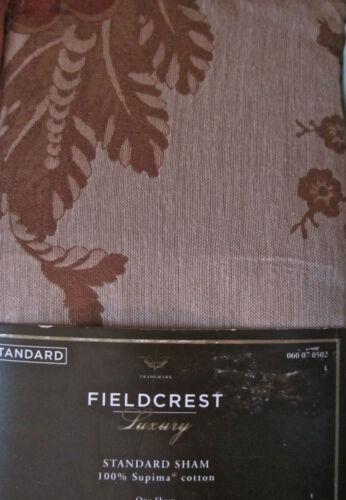 Paisley Scroll Stripe Lattice Jacobean Fieldcrest Luxury Pillow Sham Standard