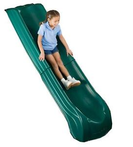 Summit-Slide-2-Piece-Slide-GREEN-Swing-N-Slide-Cubby-Playground-Play-Equipment