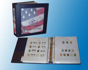 Vol 1 US Color Stamp Album 1847-1919