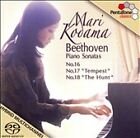 Beethoven: Piano Sonatas Nos. 16-18 Super Audio CD (CD, Jun-2006, PentaTone Classics)