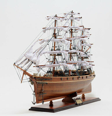"Cutty Sark Wooden Tall China Clipper Ship Model 34"" Fully Assembled Boat"