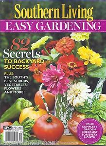 Southern living easy gardening magazine 2012 special Southern living garden book