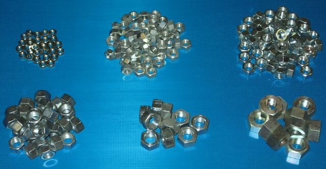 UNF Plain Nuts 200 Pack. Rover P6 3500S 3500 V8 2200 2000 TC SC