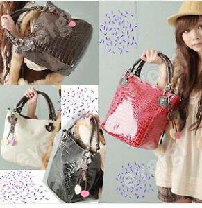 HOT-New-Fashion-PU-Leather-purses-handbags-Totes-HOBO-Shoulder-Bag