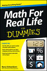 Math for Real Life For Dummies by Barry Schoenborn (Paperback, 2013)
