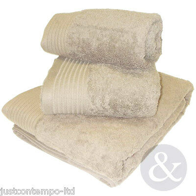 EGYPTIAN LUXURY 100% Super Soft Combed Cotton Towels & Bath Accessories