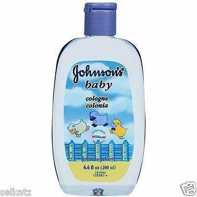 JOHNSON'S BABY COLOGNE 6.6 OZ JOHNSONS MILD PERFUME