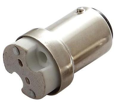 LED Adaptor - Adapts G4 base to BA15S/T25, 1156 or 1141 bases, 12v Item #29001